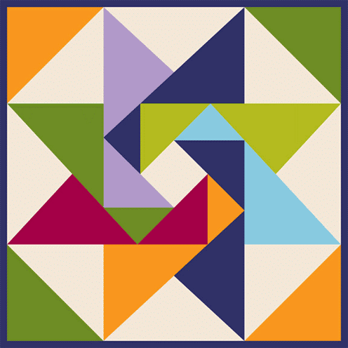 Barn Quilt Painting  2'x2 or' 4'x4' May 16-18 or  Sept.13-15 Class Fee $70 or $120