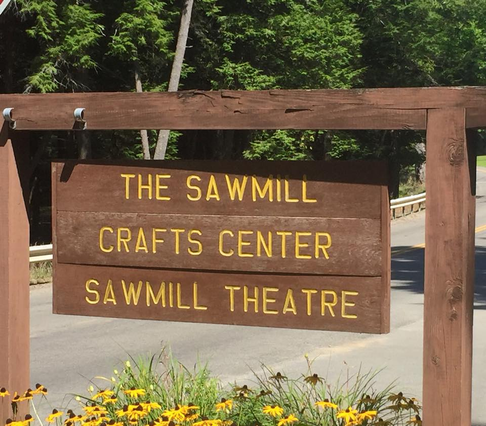 Sawmill Center Sign