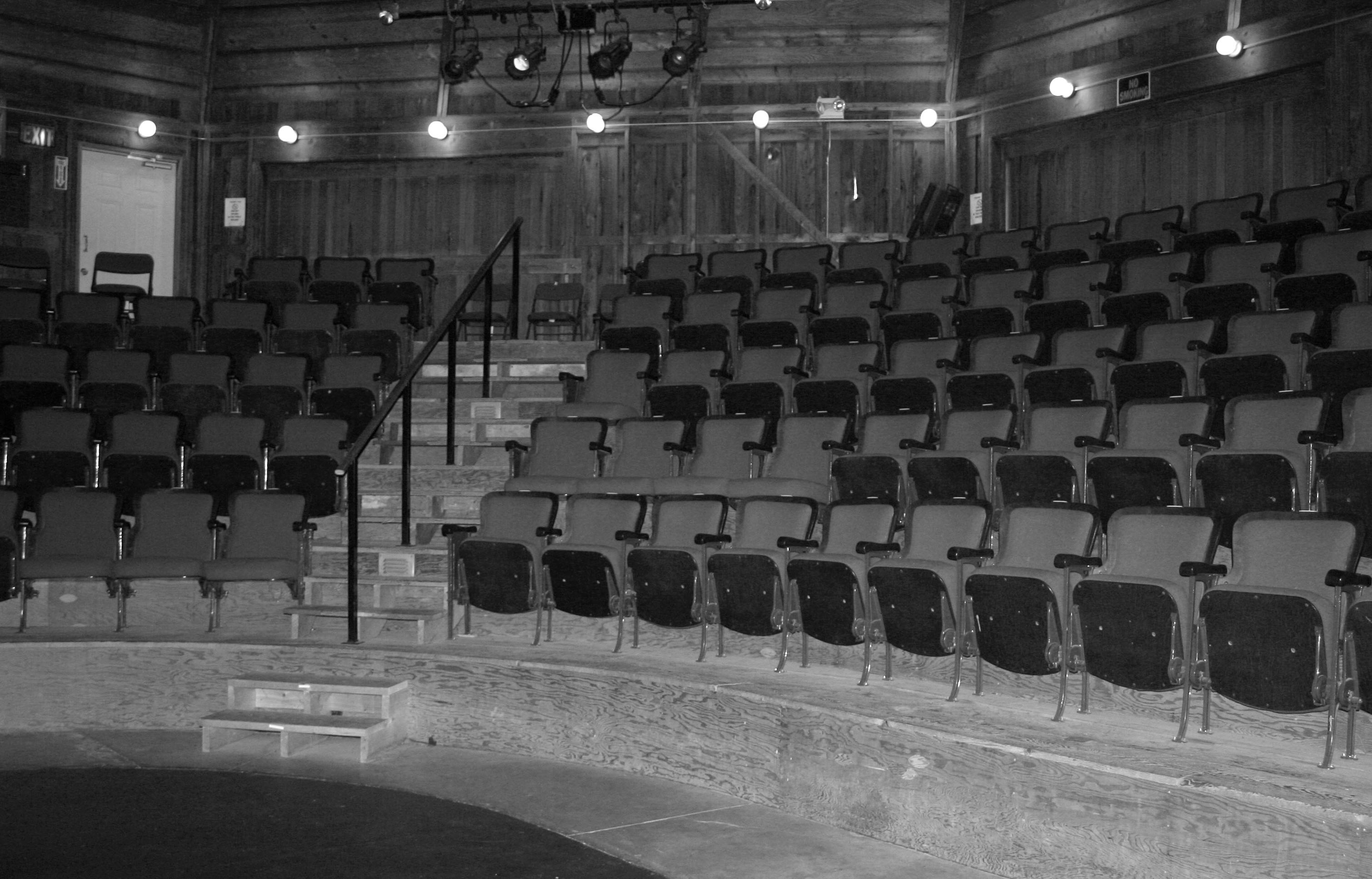 Theatre-Seating (black and white)