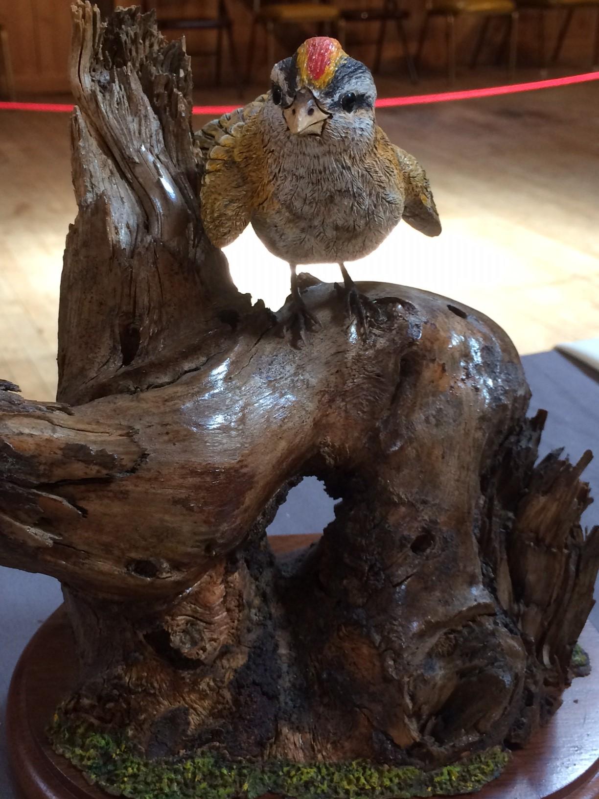 WoodCarvedBird