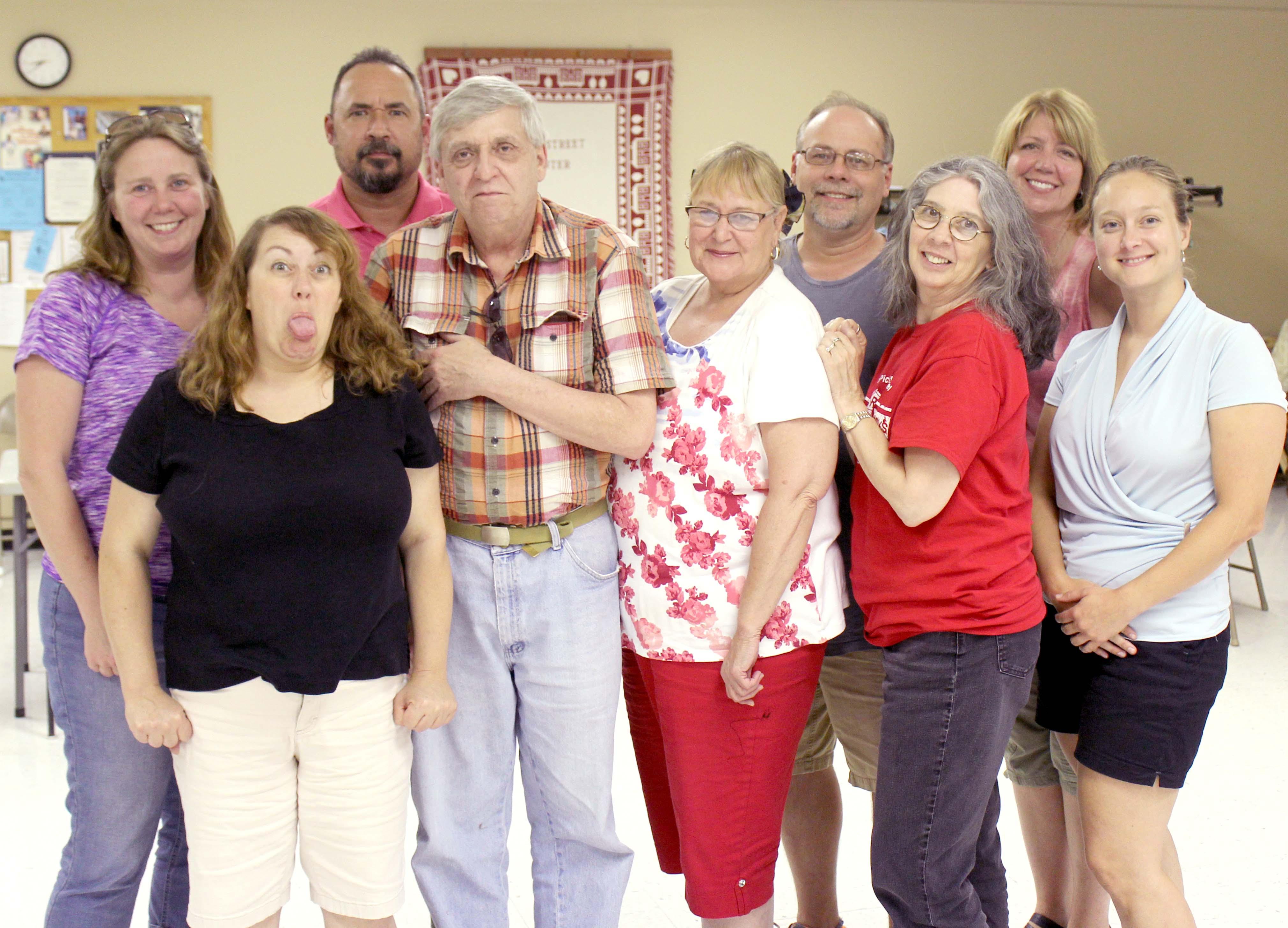 Arlene Cast Clarion Community Theater