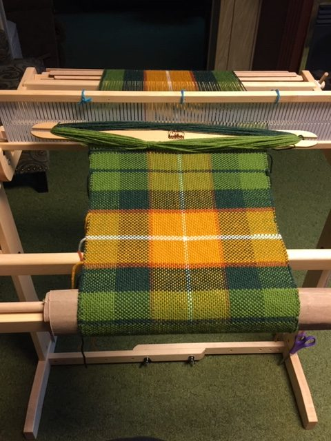 Linda Pepper: Weaving a Placemat on Rigid Heddle Loom