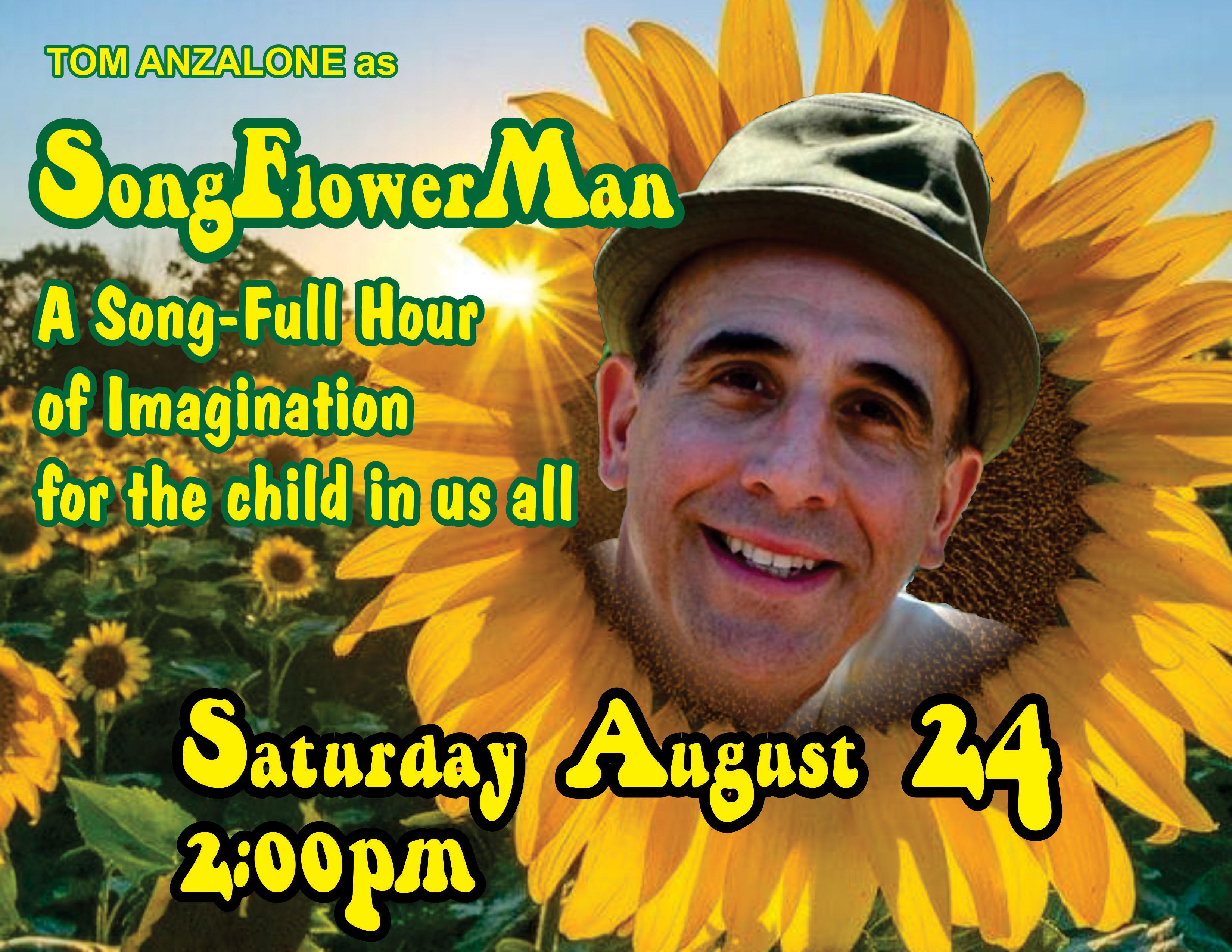 8-24-19 Songflowerman Poster