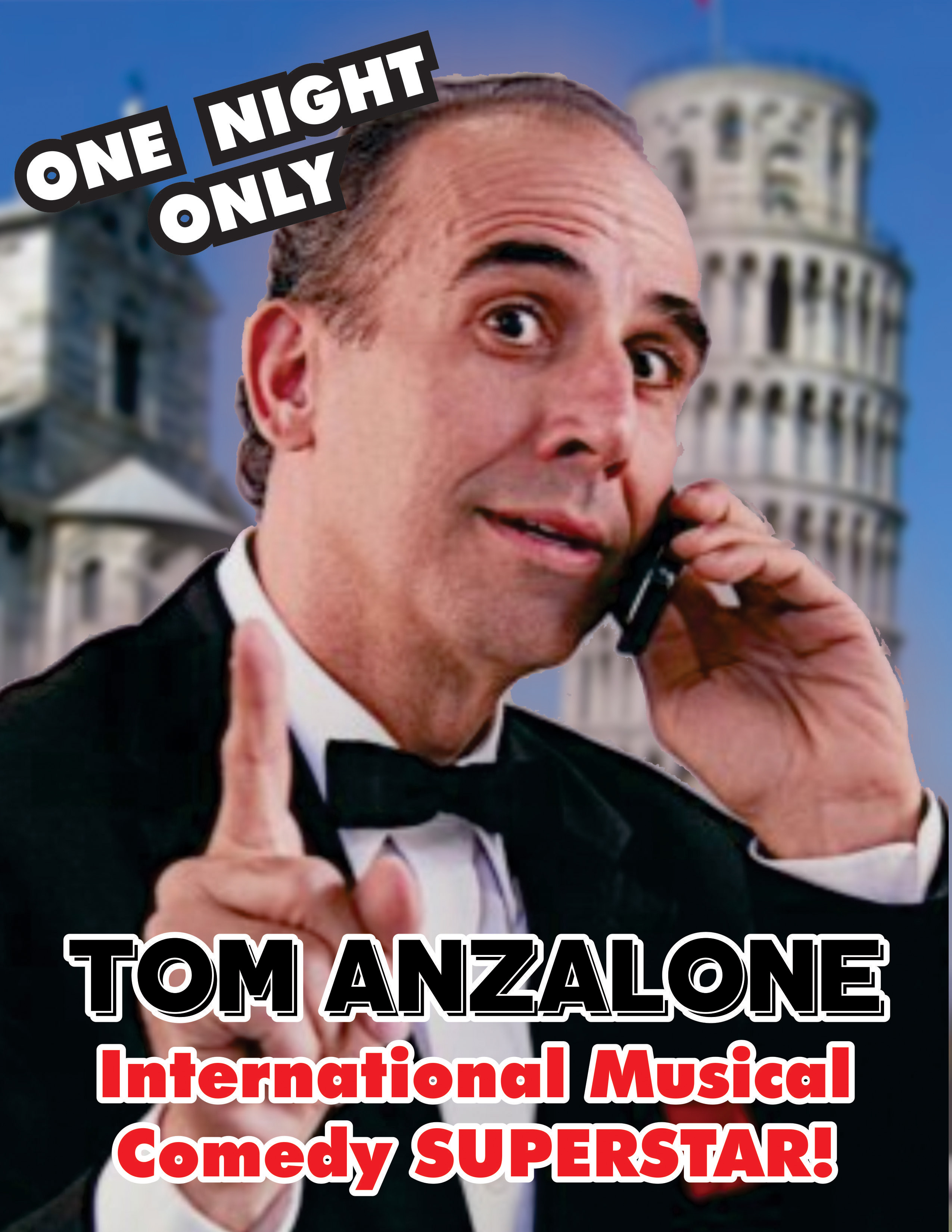 Tom Anzalone - One Night Only Poster (small)