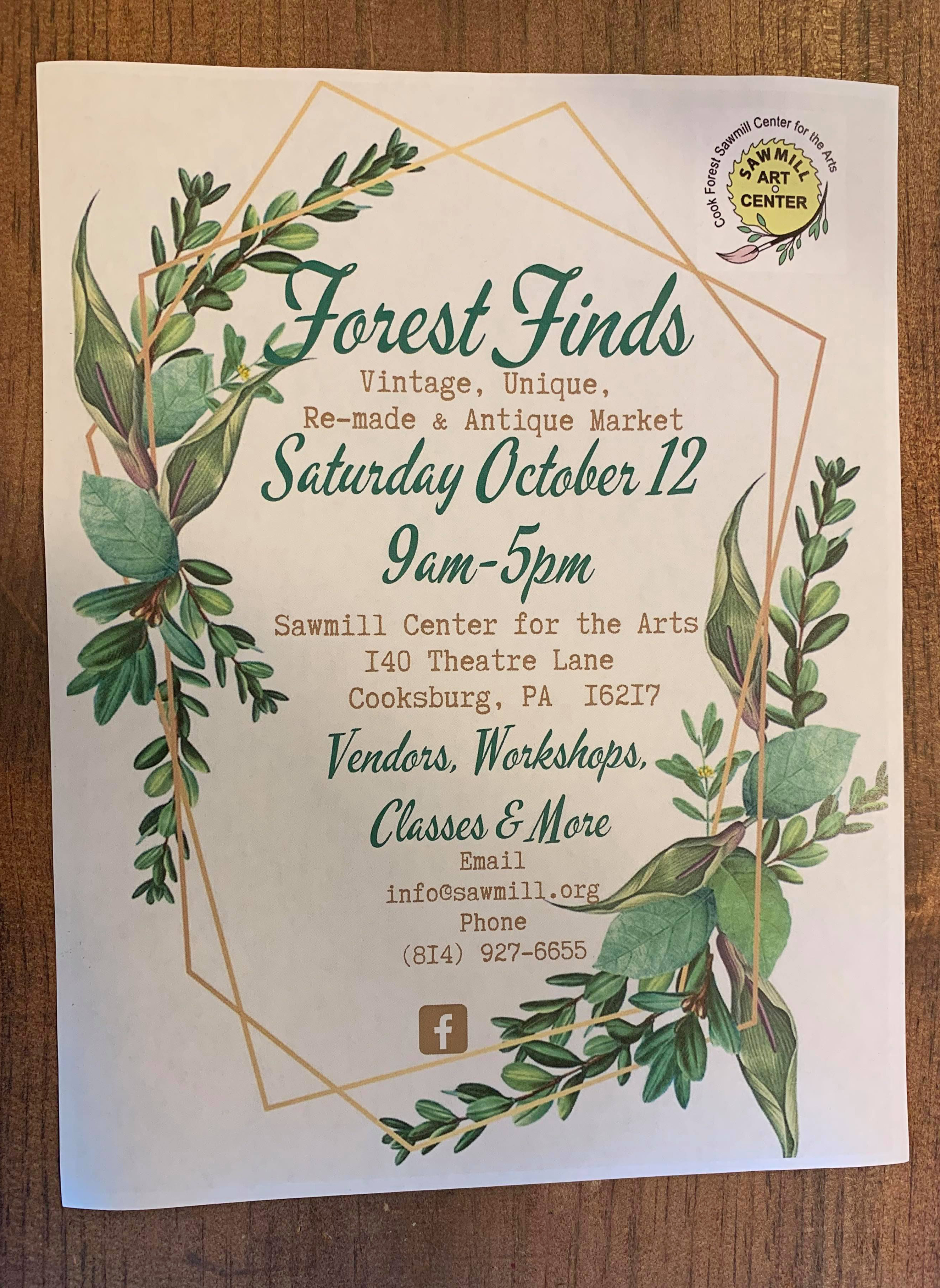 Forest Finds Poster